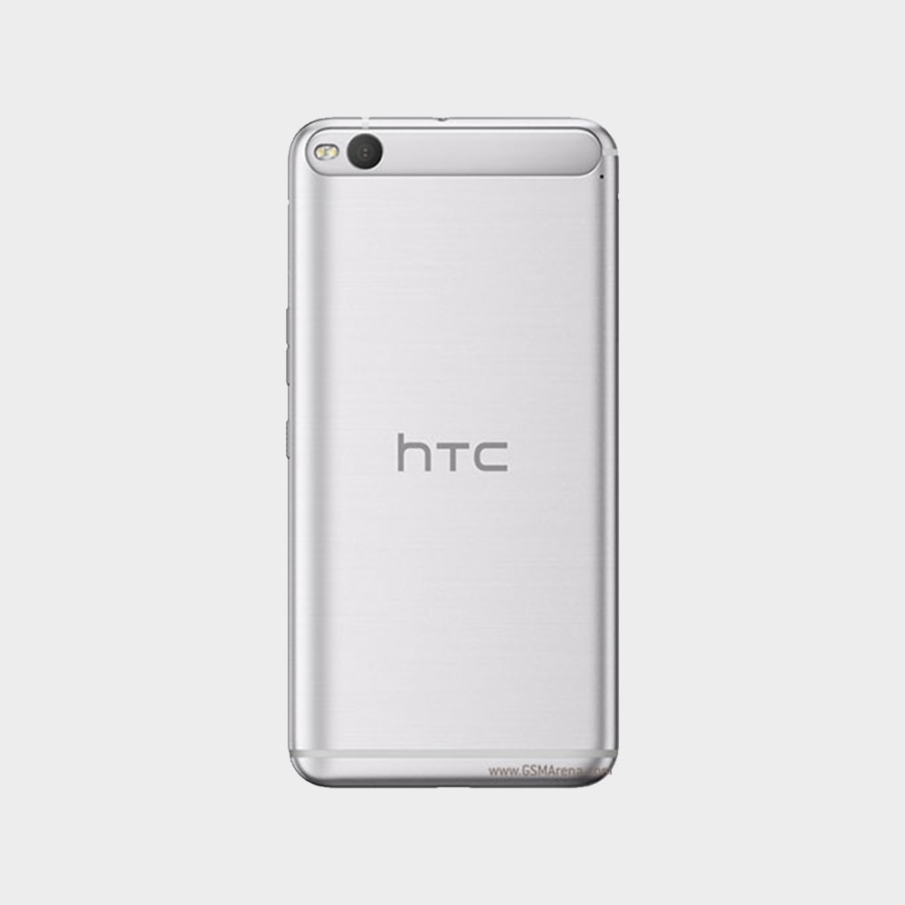 htc one x9 back view white