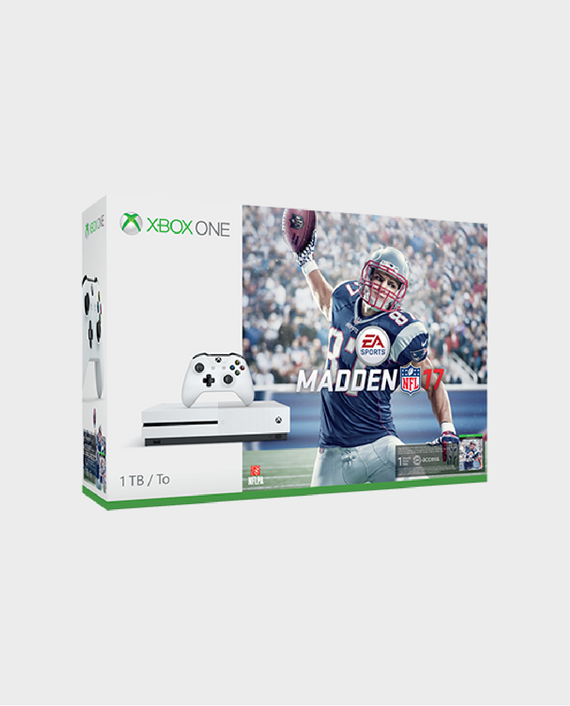 Xbox One S 1TB USA Console - Madden NFL 17 Bundle