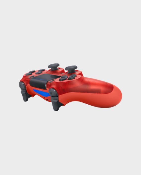Sony PlayStation DualShock 4 PS4 Wireless Controller (2nd Generation) – Red Crystal Edition