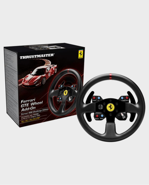 thrustmaster t300 ferrari gte racing wheel for ps4 ps3 pc. Black Bedroom Furniture Sets. Home Design Ideas