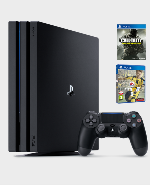 PS 4 Pro USA 1TB Console +COD Infinite warfare & FIFA17