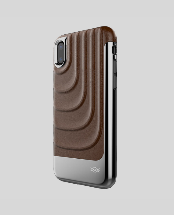 X-Doria Spartan iPhone X Brown