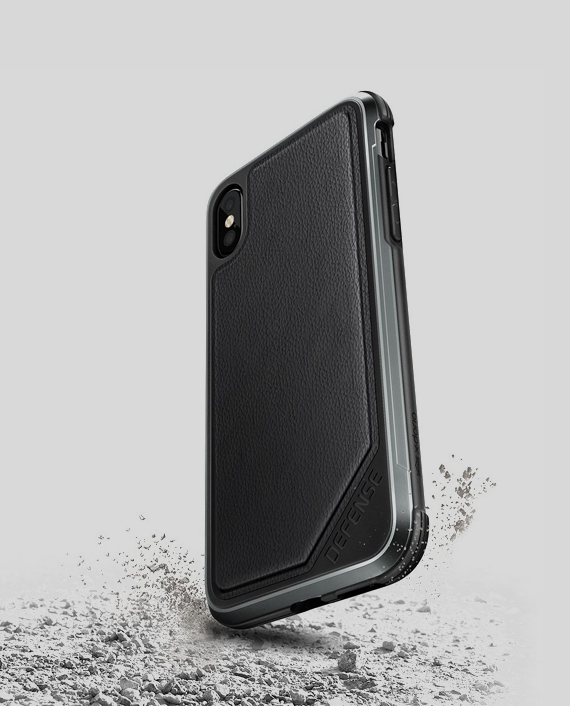 iPhone-X-Case-Defense-Lux-Black-Leather