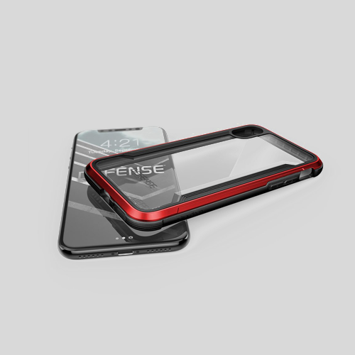 iPhone X Case Defense Shield-three