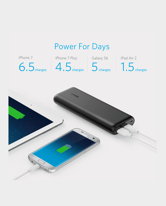 anker powercore external battery 20100mah