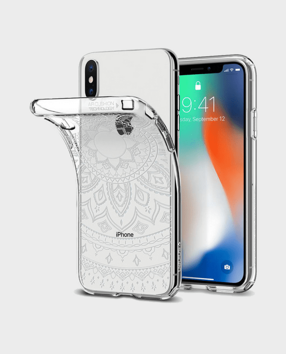 Spigen iPhone X Case Liquid Crystal Shine in Qatar Lulu – Souq – Amazon