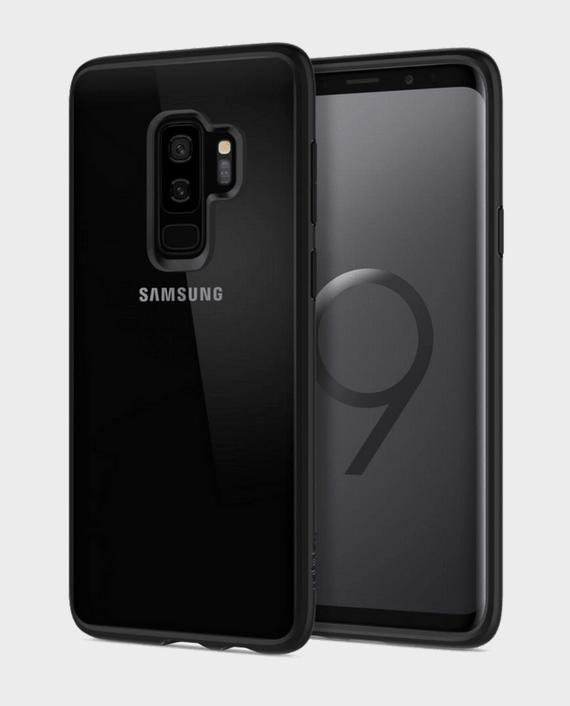 Spigen Samsung Galaxy S9 Plus Case Ultra Hybrid Matte Black in Qatar and Doha