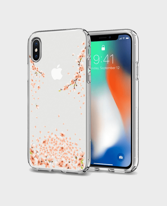 Spigen iPhone X Case Liquid Crystal Blossom in Qatar and Doha