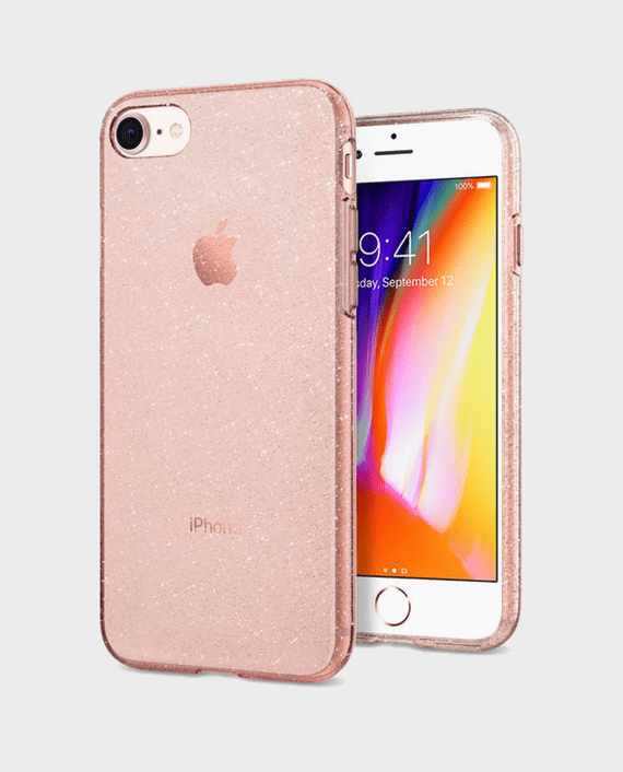 Spigen iPhone 8 Case Liquid Crystal Glitter in Qatar and Doha