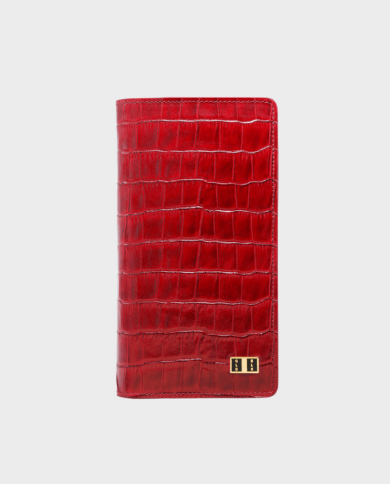 Gold Black Smart Wallet Billion Croco Red in Qatar