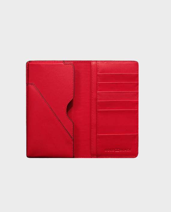 Gold Black Smart Wallet Billion Unico Red