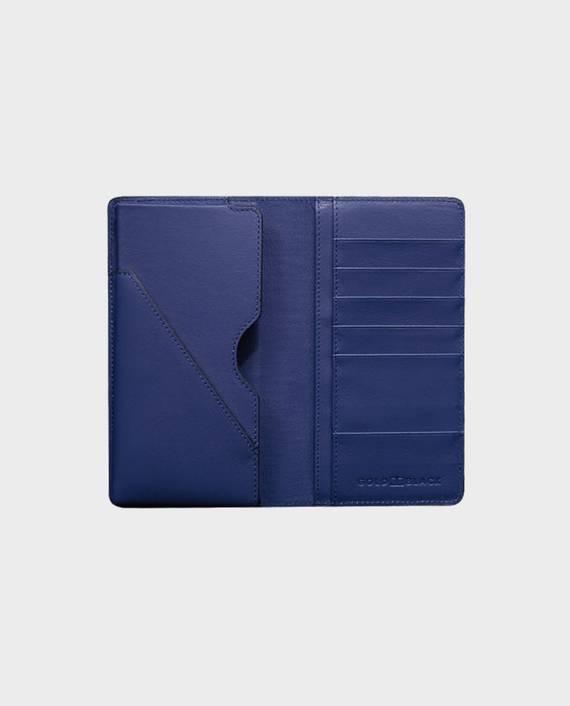 Gold Black Smart Wallet Billion Unico Blue