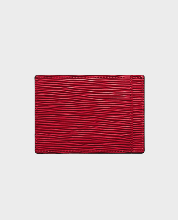 Gold Black Card Holder Bill Unico Red
