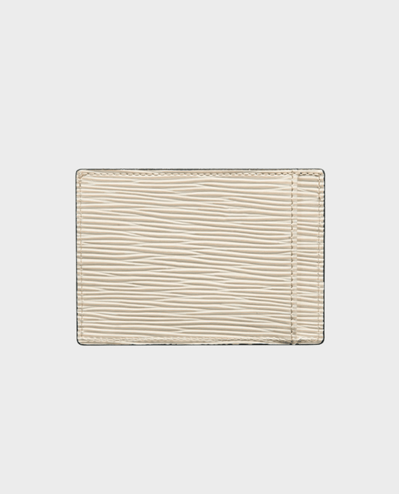 Gold Black Card Holder Bill Unico White