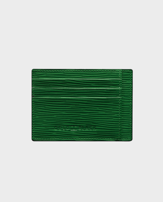 Gold Black Card Holder Bill Unico Green