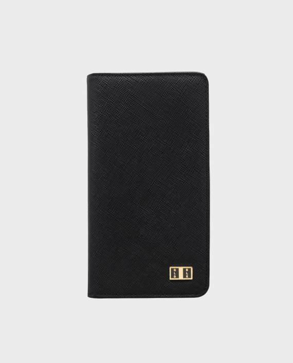 GoldBlack Smart Wallet Billion Saffiano Black in Qatar
