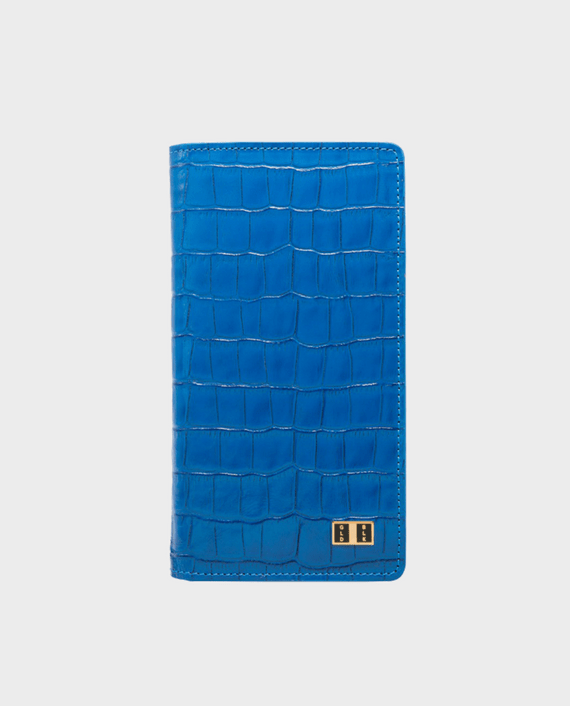 Gold Black Smart Wallet Billion Croco Blue in Qatar