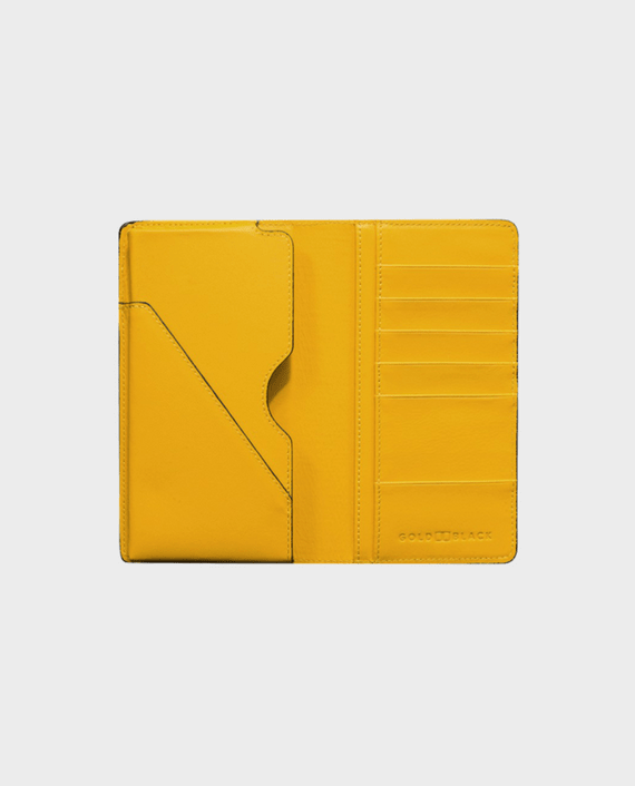 Gold Black Smart Wallet Billion Unico yellow