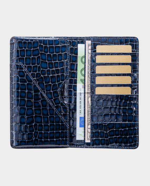 Gold Black Smart Wallet Billion Milano Blue