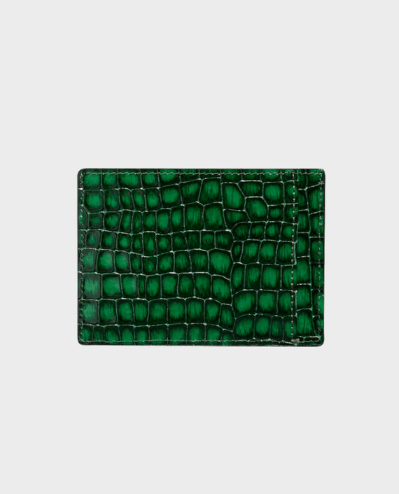 Gold Black Card Holder Bill Milano Green in Qatar