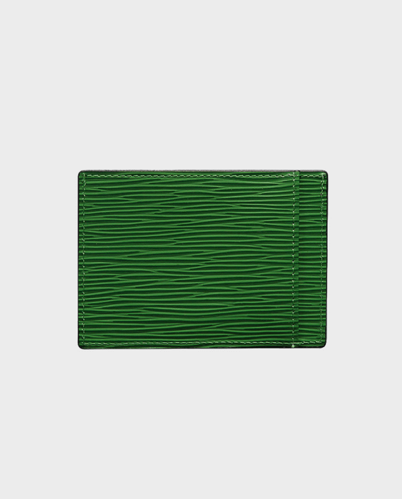 Gold Black Card Holder Bill Unico Green in Qatar
