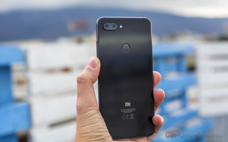 Xiaomi Mi 8 Lite Back View