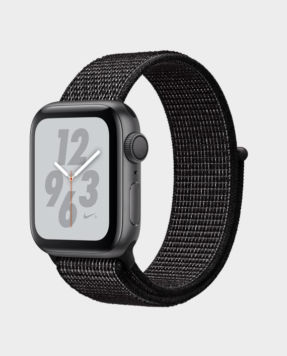 Apple Watch Nike+ Series 4 GPS 44mm Space Grey Black Nike Sport Loop in Qatar