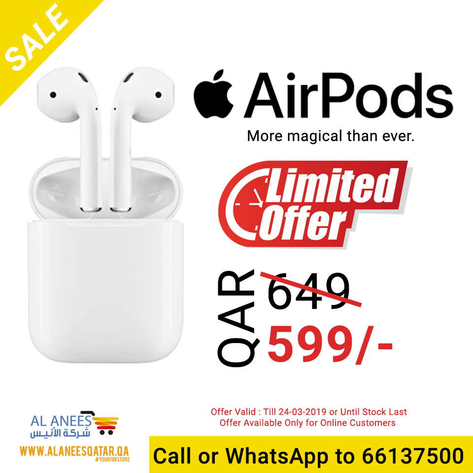 Apple Airpods Offer in Qatar
