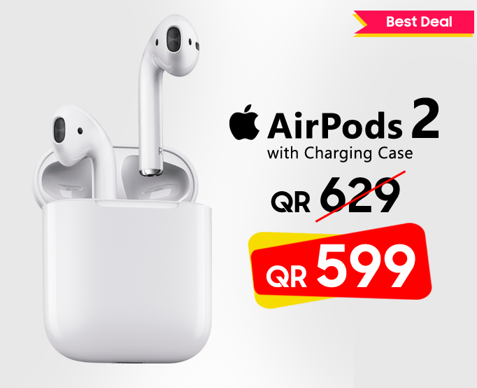 Apple Airpods 2 in Qatar