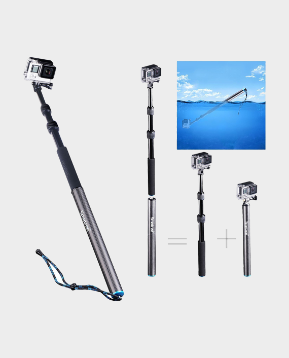 Smatree SmaPole S3 Detachable Extendable Floating Pole for GoPro in Qatar