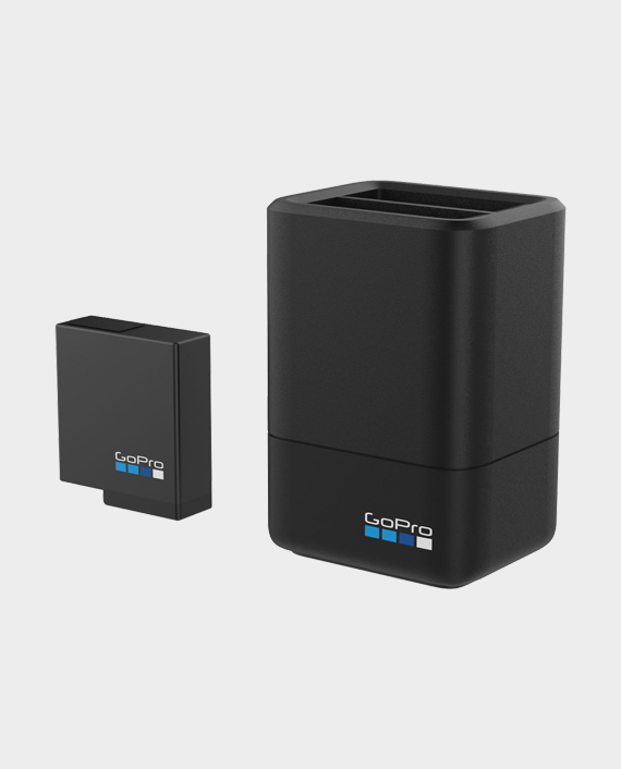 GoPro Dual Camera Battery Charger Plus Battery in Qatar