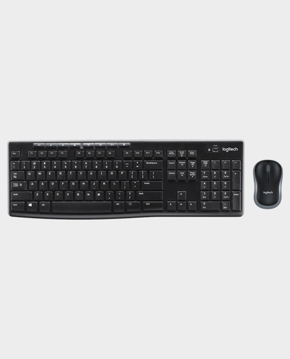 Logitech Wireless Keyboard Mouse Combo MK270 in Qatar