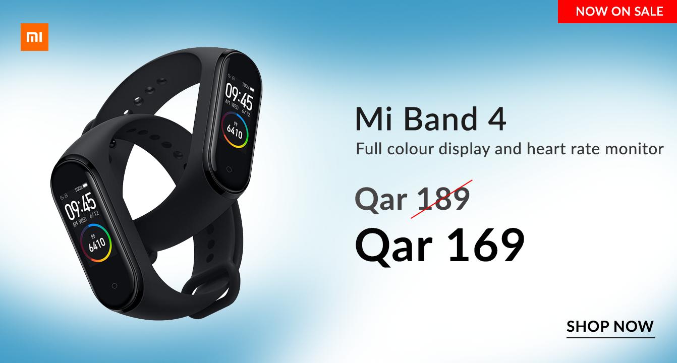 mi band 4 price in qatar