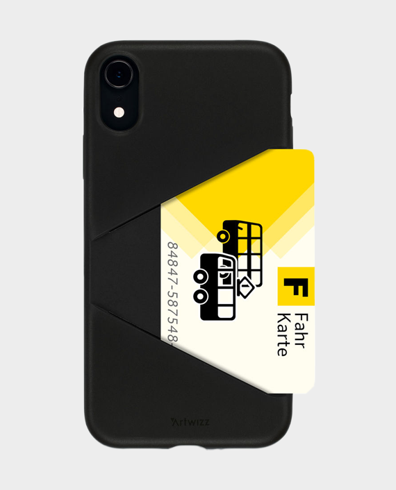 Artwizz iPhone XR TPU Card Case in Qatar
