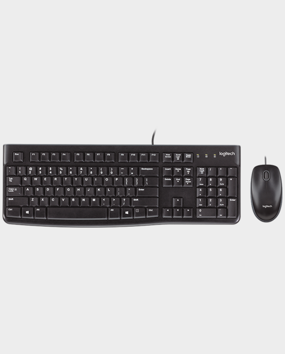 Logitech MK120 Desktop Keyboard and Mouse in Qatar