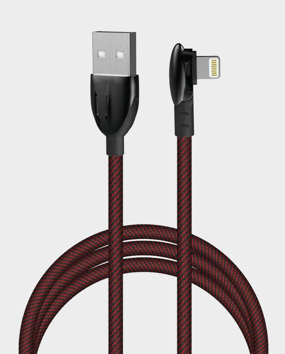 Porodo Zinc Alloy Gaming Lightning Cable 1.2m in Qatar