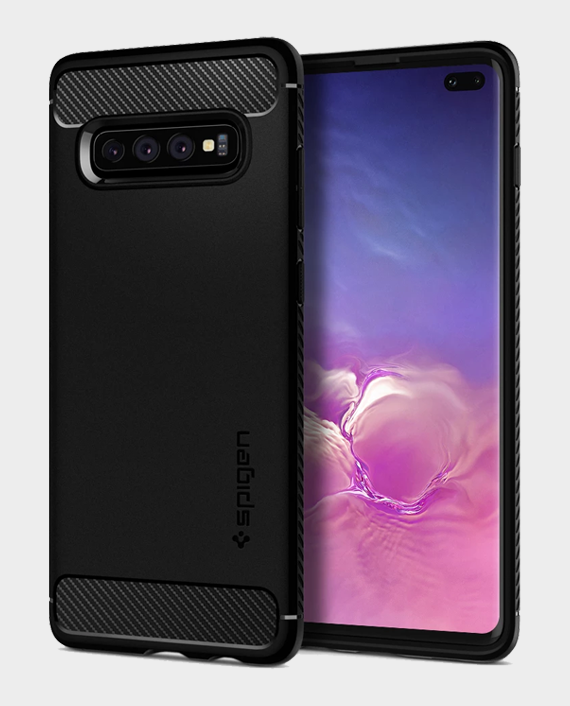 Spigen Galaxy S10 Plus Case Rugged Armor in Qatar