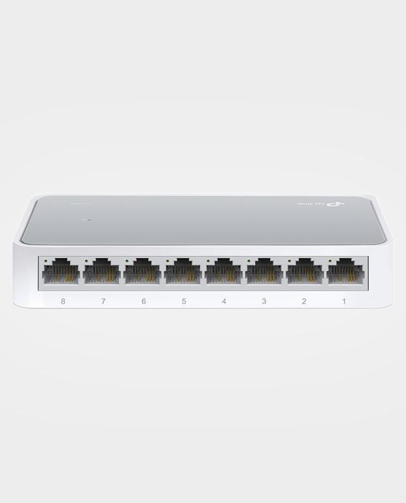 TP-Link TL-SF1008D V11 8-Port 10-100Mbps Desktop Switch in Qatar