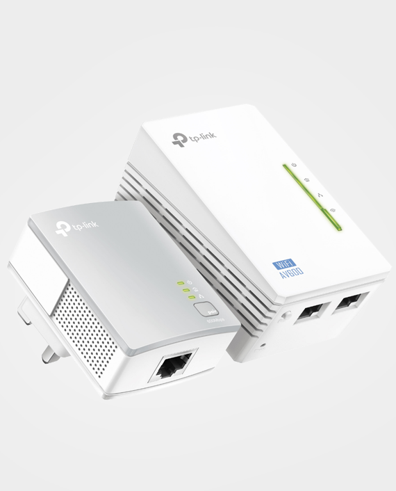 TP-Link TL-WPA4220KIT 300Mbps AV500 Wi-Fi Powerline Extender Starter Kit in Qatar