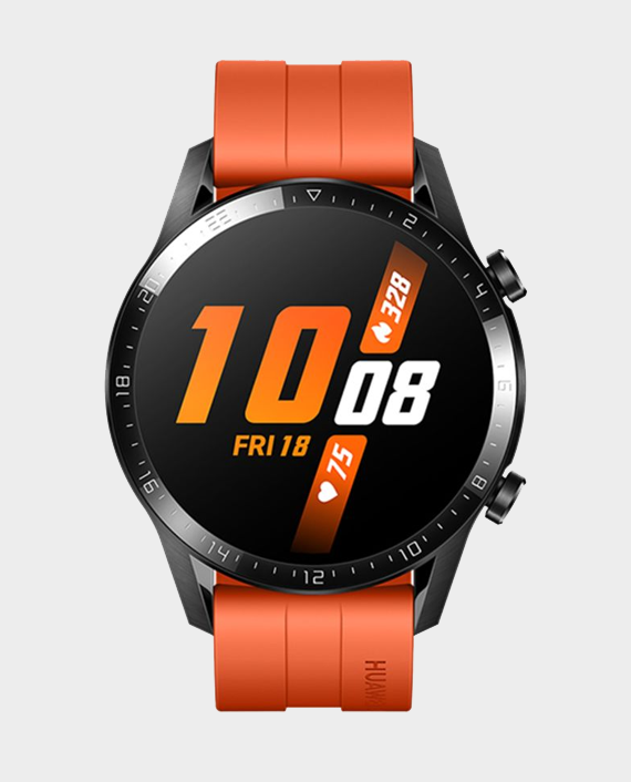 Huawei Watch GT 2 46mm Sunset Orange in qatar