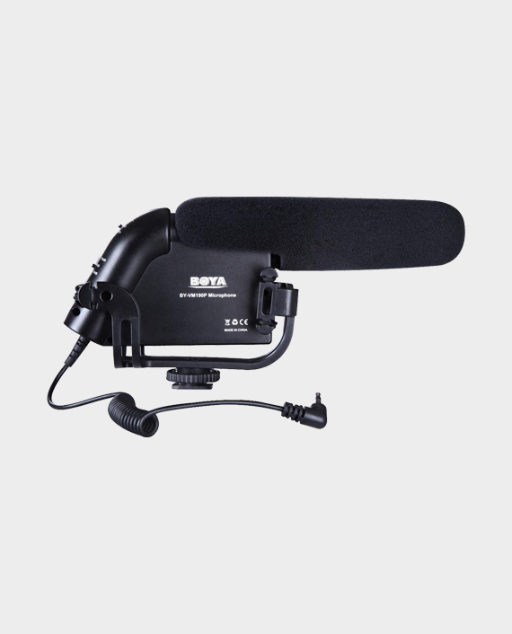 BOYA BY-VM190P Super-Cardioid Condenser Shotgun Microphone for HDSLR Cameras in Qatar
