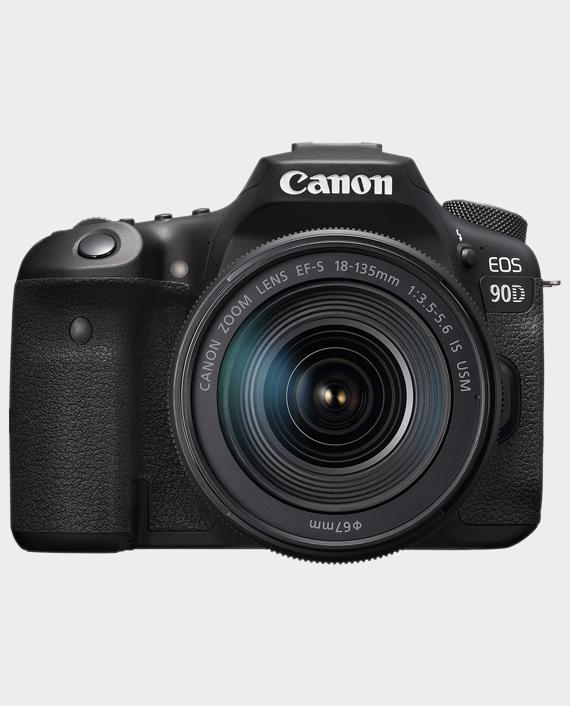 Canon EOS 90D + 18-135 Lens in Qatar