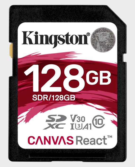 Kingston 128GBSDCanvas React4K in Qatar