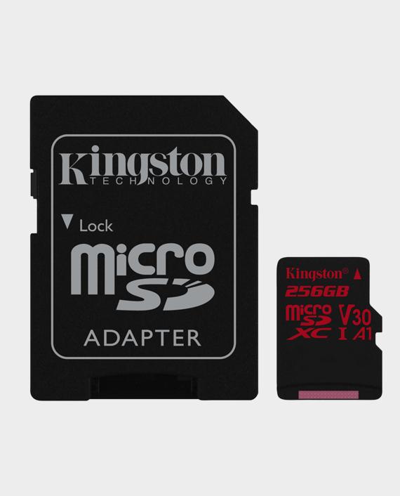 Kingston 256GB MicroSD Canvas React4K in Qatar