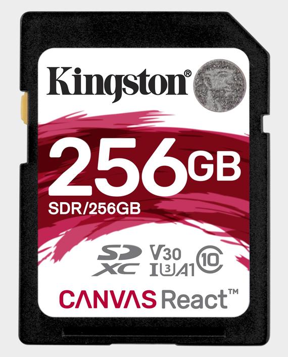 Kingston 256GBSDCanvas React4K in Qatar
