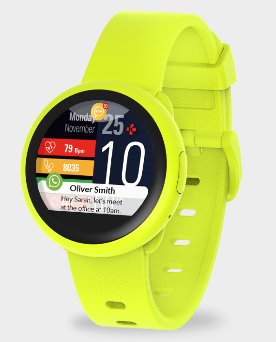 MYKRONOZ ZeRound3 Lite Smartwatch Yellow in Qatar