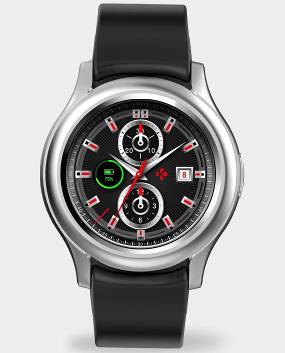 MYKRONOZ ZeRound3 Smartwatch Silver in Qatar