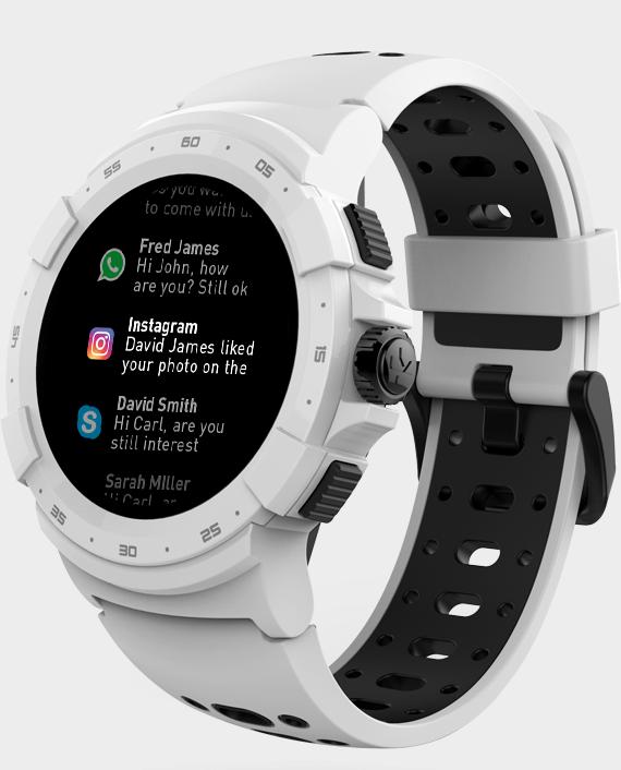 MYKRONOZ ZeSport 2 Smartwatch White in Qatar