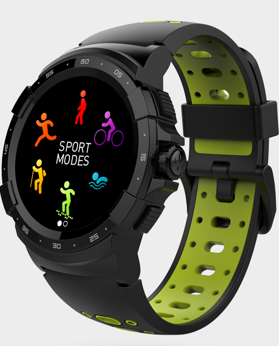 MYKRONOZ ZeSport 2 Smartwatch Yellow in Qatar