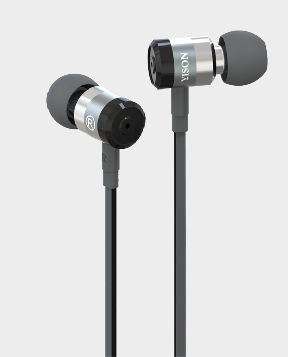 YISON EX-900 Super Bass Metal Stereo Earphones in Qatar